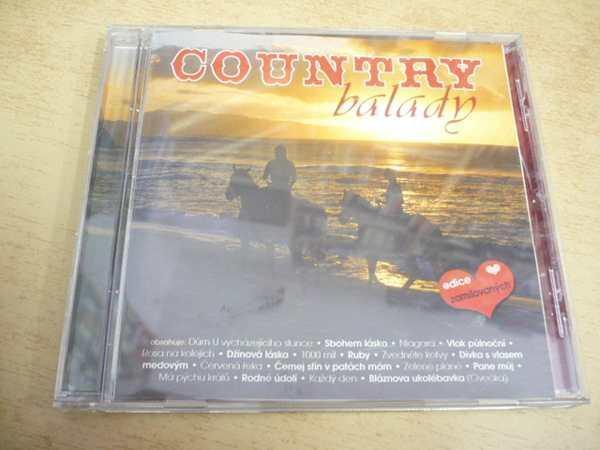 CD COUNTRY balady - Hudba