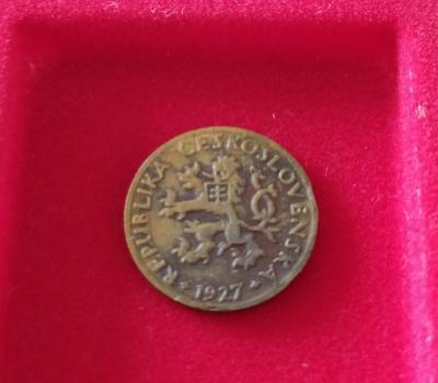 5 haléř 1927 , První Republika