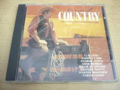 CD King of Country / CASH, JONES, MURRAY, WAGONER...