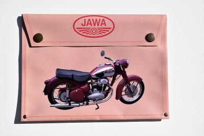 JAWA 500 OHC, pouzdro na dokumenty