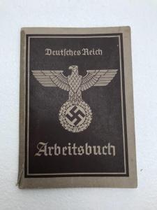 Pracovní knížka - Arbeitsbuch - WW2 !!!