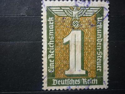 1 REICHSMARK NSDAP WAR VÁLKA IIWW KRIEG REICH SS RAD STEUER !!!! R