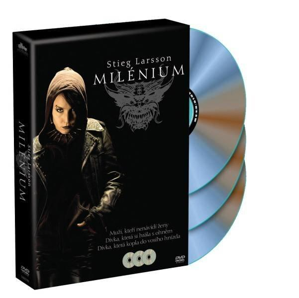 MILÉNIUM KOMPLET (3 DVD)  - Film