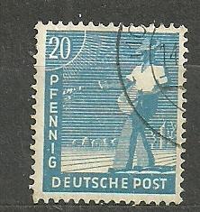 Spojenecká okupace  Mi. č. 950 - ražená