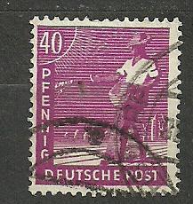 Spojenecká okupace  Mi. č. 954 - ražená