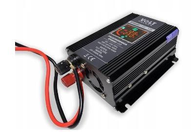 VOLT INVERTER 12V 230V NAPĚTÍ 600W LC