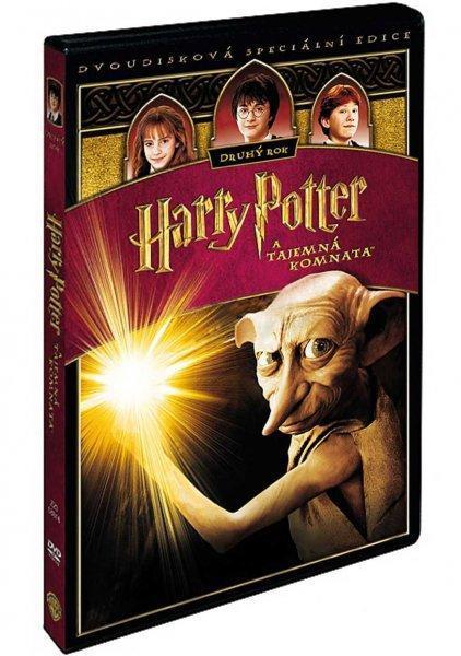 Harry Potter 2 a Tajemná komnata - 2DVD  - Film