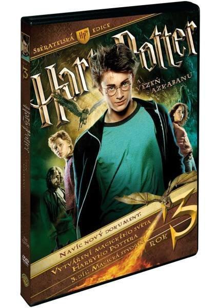 Harry Potter 3 a Vězeň z Azkabanu - 3 DVD  - Film