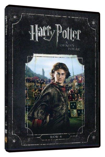 Harry Potter 4 a Ohnivý pohár - DVD  - Film
