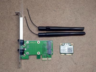 Intel Centrino Advanced-N 6205 Half-Mini PCI-E Wireless Card Adapter