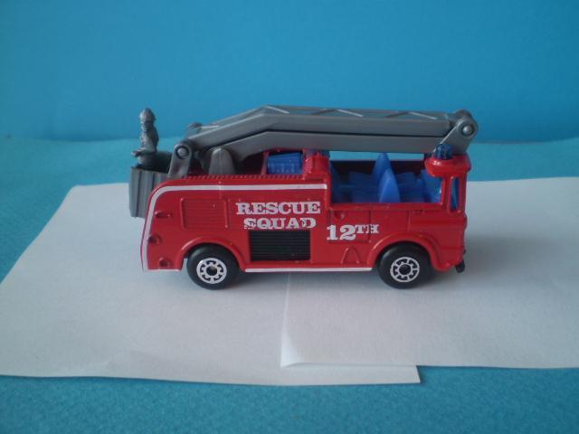 MATCHBOX - 12 SNORKEL FIRE ENGINE - Modelářství