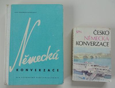 Staré učebnice / Česko - německá konverzace
