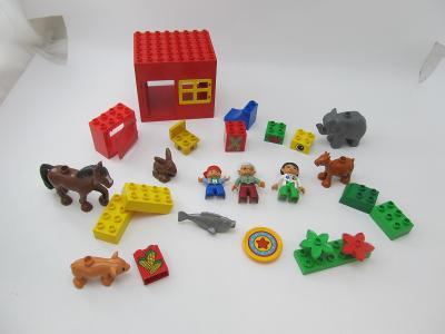 Lego DUPLO ZOO zvířata slon farma veterinar figurky kostky