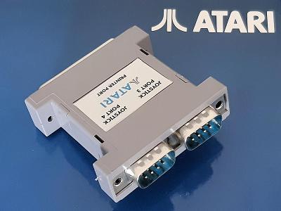 ATARI ST, STE 4 port Joystick adaptér + hry