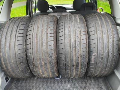 4 letní pneumatiky DUNLOP Run-Flat 245/50R18 100Y 7,00mm