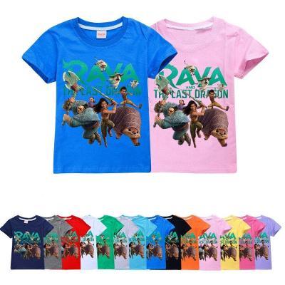 Raya a drak - dětské tričko, různé velikosti Raya And The Last Dragon
