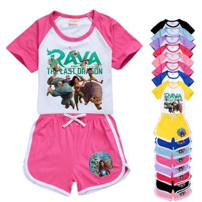 Raya a drak - dětské tričko a kraťasy, různé velikosti
