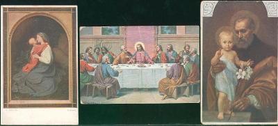 25A821 Pohlednice - náboženská tématika