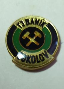 P58 Odznak TJ Baník Sokolov  1ks