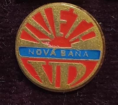P70 Odznak VD Kveta Nová Baňa 1ks