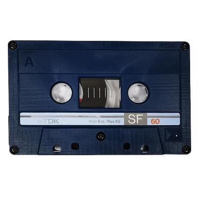 Audio Kazeta TDK SF 60 Chrom Super Fidelity Tape