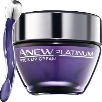 Avon, Anew Platinum +55 krém na oční okolí a rty 15 ml