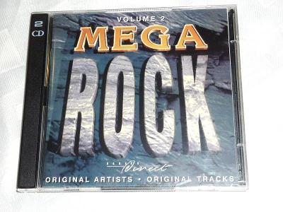 Mega  ROCK  2 CD  .. Volume 1 .. Judast PRIEST - MR. BIG - POISON atd