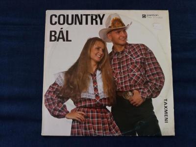Taxmeni - Country Bál - Špičkový Stav - Panton ČR - 1993 - LP
