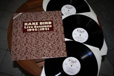 LP Rare Bird Charlie Parker, Dizzy Gillespie, Miles Davis 3LP live