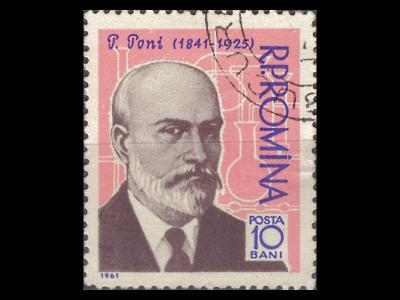 Rumunsko 1961 Mi 1958