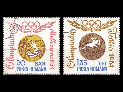 Rumunsko 1964 Mi 2345 ,2351