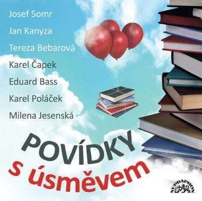 Povídky s úsměvem - CD audiokniha - Čapek - Bass - Poláček