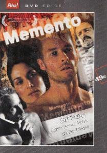 DVD Christopher Nolan Memento Guy Pearce Carrie-Anne Moss