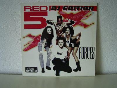 LP- RED 5 - Forces (DJ Edition) (album)´1997