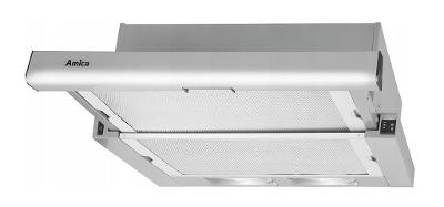 Kapuce Amica OTS6234I TELESCOPIC INOX 60 CM LED