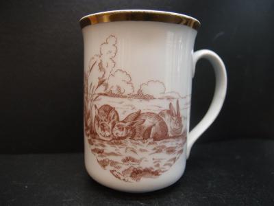 hrnek se zajíčky, Karlovarský porcelán