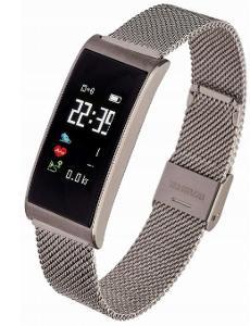 Smartwatch Garett Women Tina stříbrná, ocel IP67