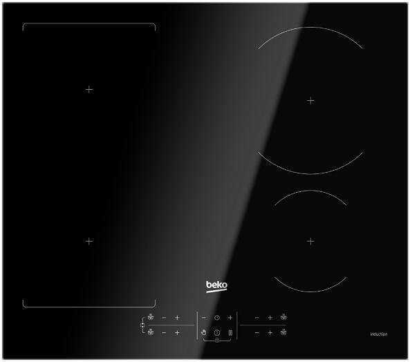 Indukční varná deska Beko HII64201FHT TIMER BOOSTER - Velké elektrospotřebiče
