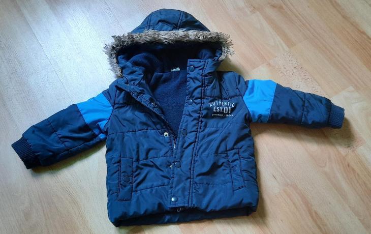 Zimní bunda na chlapečka - 80 - Oblečení