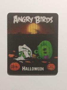 sběratelská kartička Angry Birds - Helloween 23