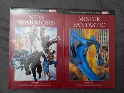 NHM - Nejmocnejsi hrdinove marvelu - New warriors (nove, folie)