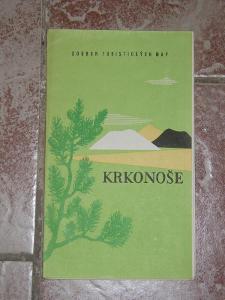 mapa Krkonoše 1964