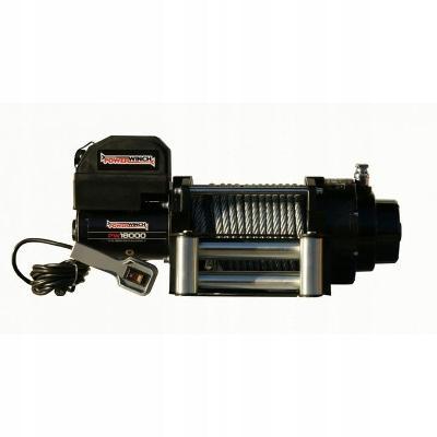 Electricky Naviják PW18000 12V PowerWinch Steel