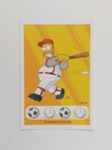 sběratelská kartička Penny, the Simpson - Věnuj se sportu 43