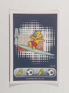 sběratelská kartička Penny, the Simpson - Věnuj se sportu 32