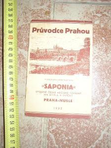 průvodce Prahou 1932- Saponia