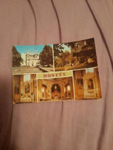 Pohlednice Hostýn,prošlé poštou