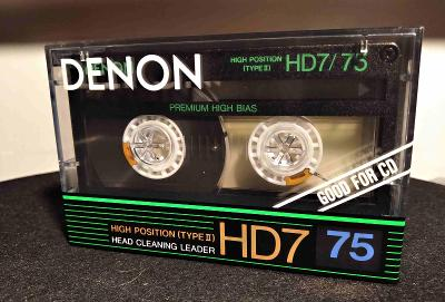 DENON HD7 75 (1987) audio kazeta