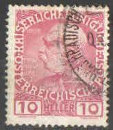 Rakousko - Mi.147 - Franz Josef I