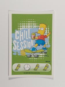 sběratelská kartička Penny, the Simpson - Věnuj se sportu 69